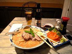 Family-run Japanese restaurant with good miso and shoyu-based ramen. They also have kimchi ramen.