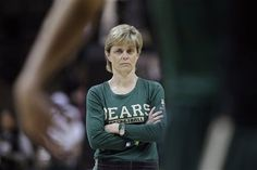 Baylor Coach Kim Mulkey lead the Louisiana Tech Lady Techsters to a National Championship when I was a student there back in the early 80's. Bulldog of a point guard with a long braid hanging down her back. She definitely GOT GAME!