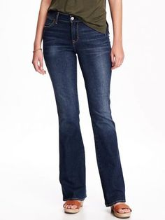 Old Navy Mid Rise Slim Flare Jeans For Women Size 2 Tall – Sheri