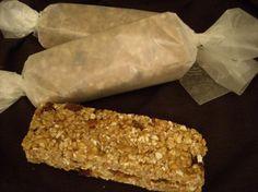 No-Bake barras de granola.