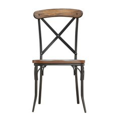 Nelson Industrial Modern Rustic Cross Back Dining Chair (set Of for sale online Cross Back Dining Chairs, Rustic Dining Chairs, Colored Dining Chairs, Dining Chair Set, Dining Room Chairs, Side Chairs, Kitchen Chairs, Dining Table, Bistro Chairs