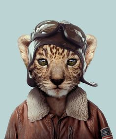 Yago Partal. Baby Leopard from Little Collectors.com