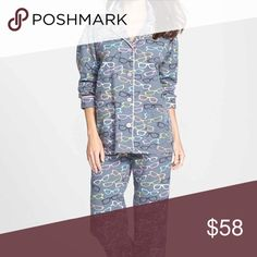 NWT PJ Salvage Flannel Pajamas Brand New in Original Packaging. Color: Smoke/Four Eyes. Perfect flannel PJs for the Fall & Winter season! Keep yourself warm and cozy with this fashionable set of PJs. PJ Salvage Intimates & Sleepwear Pajamas