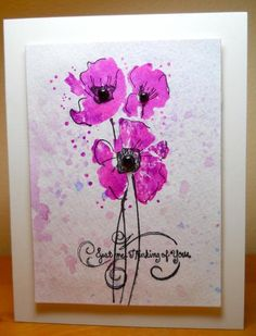 Pink Poppies by susanbri - Cards and Paper Crafts at Splitcoaststampers