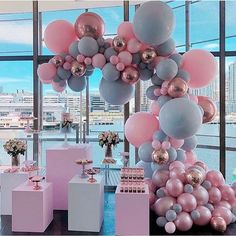 34 Creative Baby Shower Themes For Your Baby 2020 - Page 7 of 34 - coloredbikinis. Gender Reveal Party Decorations, Baby Gender Reveal Party, Balloon Decorations, Birthday Party Decorations, Baby Shower Decorations, Birthday Parties, Girl Christening Decorations, Deco Baby Shower, Baby Shower Balloons