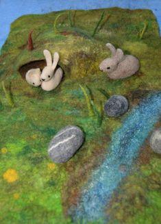 Filzige Neuigkeiten – Die Wollwerkerin