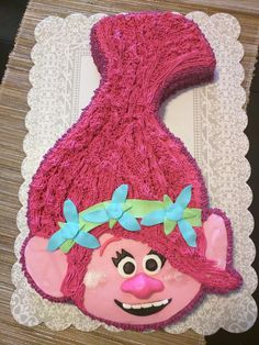 Princess Poppy Cake - Clara's 5th Birthday
