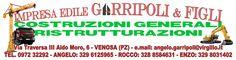 CLIENTE: Impresa Edile GARRIPOLI & FIGLI LAVORO: Grafica e Stampa striscione mt.3,90X1