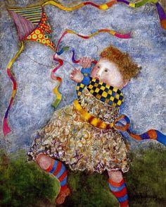 Graciela Rodo Boulanger 1935 | Bolivian painter Getting Ninos Ninos for my birthday!