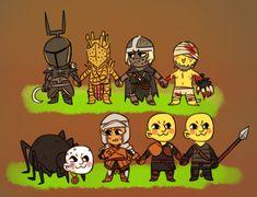 Creighton the Wanderer,DSII персонажи,Dark Souls 2,Dark Souls,фэндомы,Lautrec of Carim,Knight Lautrec of Carim,DS персонажи,Mild Mannered Pate,crossover,Demon Souls,BloodBorne,Игры,Yurt