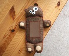 Handmade Teddy Bear iPhone and iPod case
