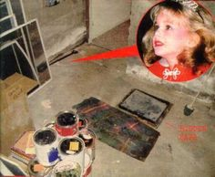 Wine Cellar where JonBenet Ramsey's body was found. Floor safe shown in this photo. Celebrity Deaths, Celebrity Stars, Jonbenet Ramsey Case, Famous Murders, Cold Case, Criminal Minds, Serial Killers, True Crime, Assassin
