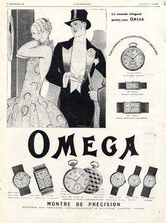 Omega 1928 René Vincent
