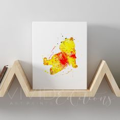 Winnie the Pooh Gallery Wrapped Canvas