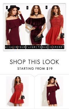 """Which is your favorite She In dress?"" by amilla-top ❤ liked on Polyvore"