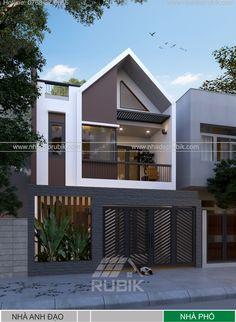 Dream Home Design, House Design, Bungalow Ideas, Facade, Gate, Landscaping, Garage Doors, Architecture, Outdoor Decor