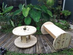 wood pallet cable spool recycling 8