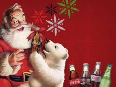 Gift of Giving Coca-cola Coke Coca Cola Christmas, Christmas Ad, Vintage Christmas, Xmas, Coca Cola Santa Claus, Coca Cola Polar Bear, Vintage Coke, Vintage Santas, Coca Cola Addiction