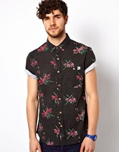 Image 1 of The Critical Slide Society Shirt Short Sleeve Floral Print