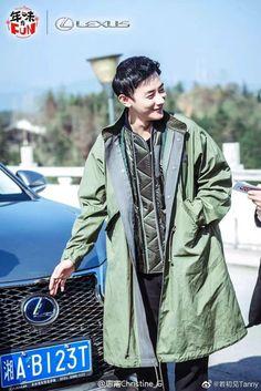 Tiffany Tang Luo Jin, Smoking, Military Jacket, Asia, Drama, Bomber Jacket, Chinese, Movie, Field Jacket