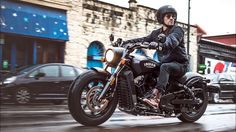 INDIAN SCOUT BOBBER 2018 | TECH TOUR |