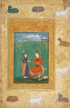 The Aga Khan Museum: Arts of the Book: Illustrated Texts, Miniatures - Mughal, 18th century CE