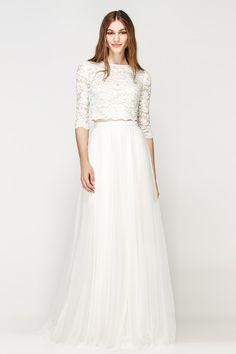 Seperated Beautiful wedding dress   itakeyou.co.uk #wedding #weddingdress #weddingdresses #weddinggown #beautifulgown