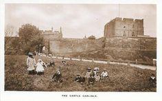 Carlisle castle pre 1900 Carlisle England, Carlisle Castle, Cumbria, Lake District, Ancestry, Great Britain, Road Trips, Monument Valley, History