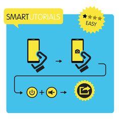 ¿Quieres hacer captura de pantalla? Presiona el botón de encendido y la tecla de reducir el volumen al mismo tiempo.