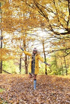 yellow for fall //