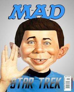star trek themed mad magazine
