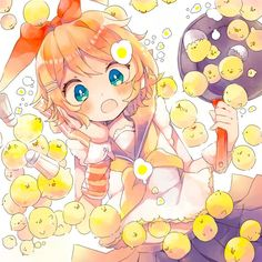 Image shared by 「Sushi」. Find images and videos about vocaloid, rin and kagamine on We Heart It - the app to get lost in what you love. Bakugou Manga, Chica Anime Manga, Anime Art, Hatsune Miku, Chibi, Servant Of Evil, Doki, Vocaloid Characters, Kagamine Rin And Len