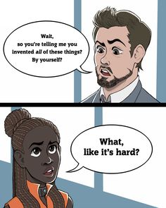 Tony Stark meets Princess Shuri. It's going to be amazing!