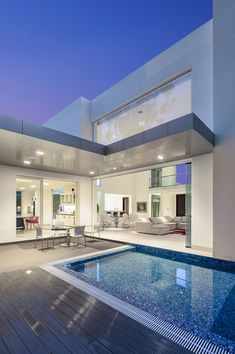 Architect Diego Guayasamin designed luxury cottage with an underground garage. Style At Home, Underground Garage, Ultra Modern Homes, Modern Mansion, House Goals, Modern House Design, Home Fashion, My Dream Home, Future House