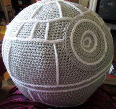Death Star Amigurumi Pattern : Crochet This on Pinterest Hexagon Pattern, Free Pattern ...