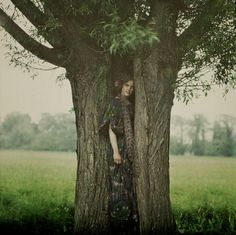 VINTAGE PHOTOGRAPHY: The Dryad by John Cimon Warborg c.1919