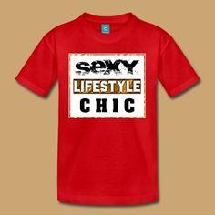SEXY - LIFESTYLE - GOLD - 1.1.0 T-Shirt   creative-media-impressions