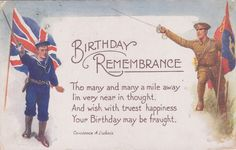 Patriotic Postcard Birthday Remembrance Postcards - Jane - Picasa Web Albums