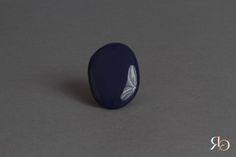 Bague Bleu marine