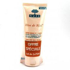 Duplo Nuxe Reve de Miel Crema de Manos y Uñas 2x75 ml