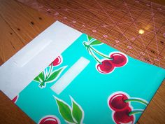 reusable sandwich bags made from oilcloth