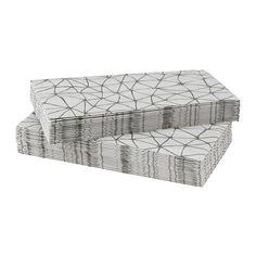 VINTER 2015 Paper napkin, light grey