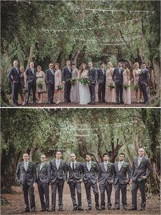 dashing grey groomsmen attire @weddingchicks
