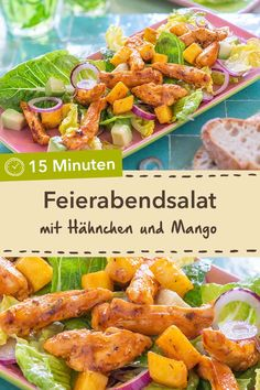 You can already look forward to this: after-work salad with chicken, mango and avocado in just 15 minutes. # chicken You can already look forward to this: after-work salad with chicken, mango and avocado in just 15 minutes. Avocado Dessert, Avocado Salad Recipes, Avocado Chicken Salad, Fruit Recipes, Healthy Recipes, Mango Chicken, Avocado Toast, Antipasto Pasta Salads, Mango Salat