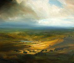 """Warm Light"" by James Naughton, English landscape painter, Art Painting, Landscape Paintings, Landscape Artist, Fine Art Painting, Oil Painting Landscape, Painting, Beautiful Paintings, Landscape Art, Beautiful Art"