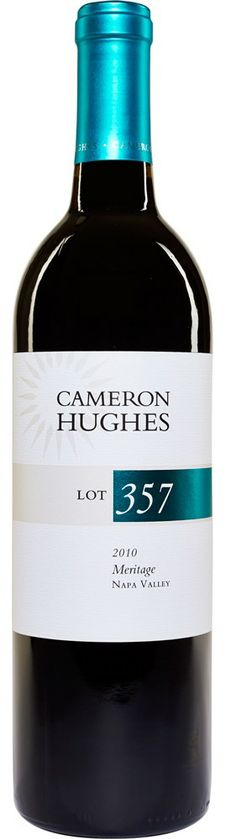 Shared this first with family, and it was a big hit. It's since been a favorite for easy drinking on any evening. Have to grab more at Costco before they're cleared out. Thanks, Cam! ... Lot 357 2010 Napa Meritage at chwine.com