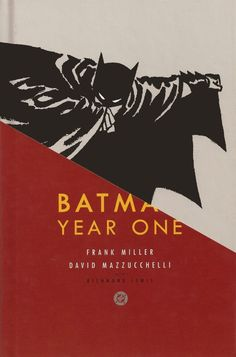Batman: Year One An excellent first graphic novel, especially if you've seen the Christopher Nolan movies. Batman Year One, Chip Kidd, Frank Miller, Deck Design, Ux Design, First Year, Dc Comics, Comic Books, Chips