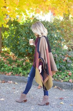 Love this casual look perfect for fall!