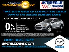 Mazda Summer Drive Event!