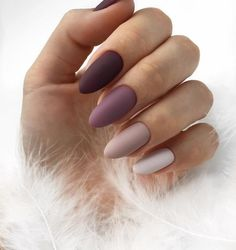 40 Hochzeitsnägel Elegant Nails elegant nails for wedding Cute Acrylic Nails, Matte Nails, Gradient Nails, Pink Nails, Matte Nail Colors, Manicure Colors, Manicure Ideas, Gel Manicure, Black Nails
